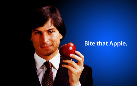 steve jobs muerde la manzana