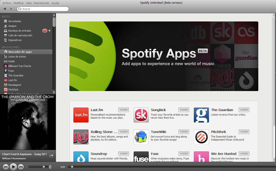 Spotify Beta